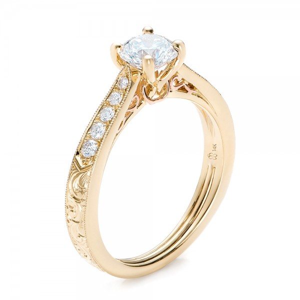 ... engagement rings. 14K Yellow Gold 18K Yellow Gold 22K Yellow Gold
