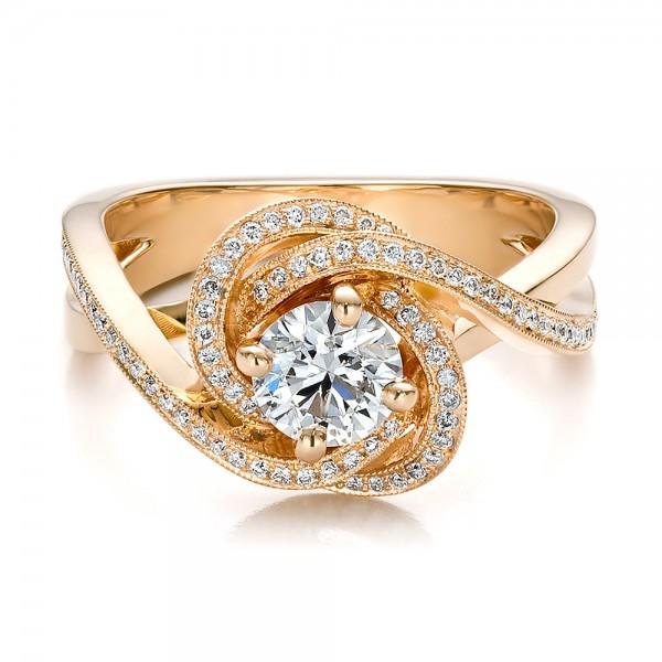 Rose Gold Ring Rose Gold Rings Diamonds