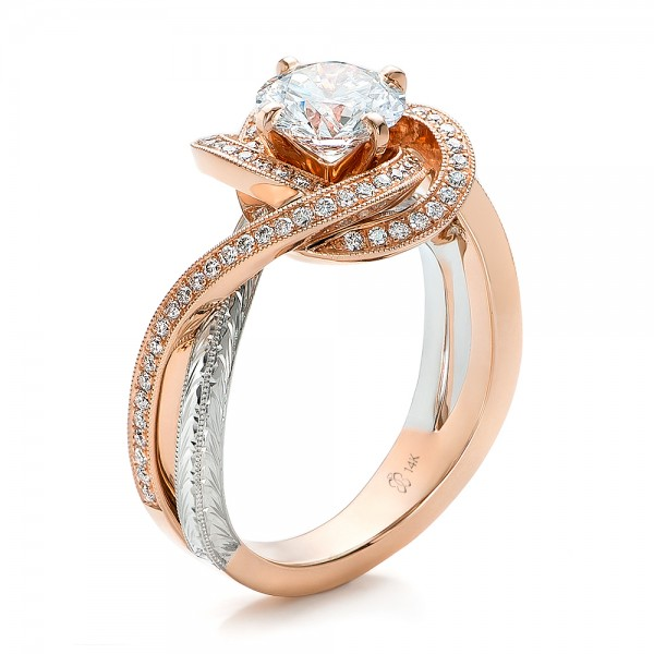 30 Inspirational Design A Rose Gold Engagement Ring