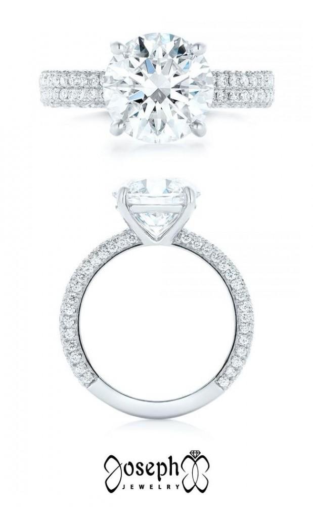 14 Low-Profile Engagement Rings   Joseph Jewelry