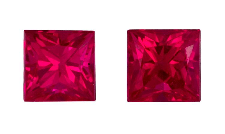 0.6 ct. Red Ruby