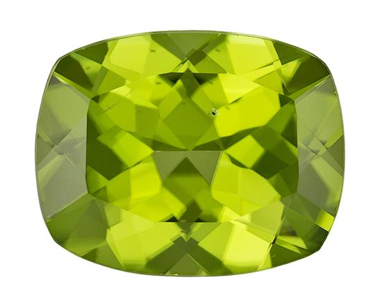 4 carat Cushion Peridot - Gemstone Thumbnail