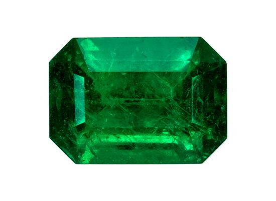 0.85 ct. Green Emerald