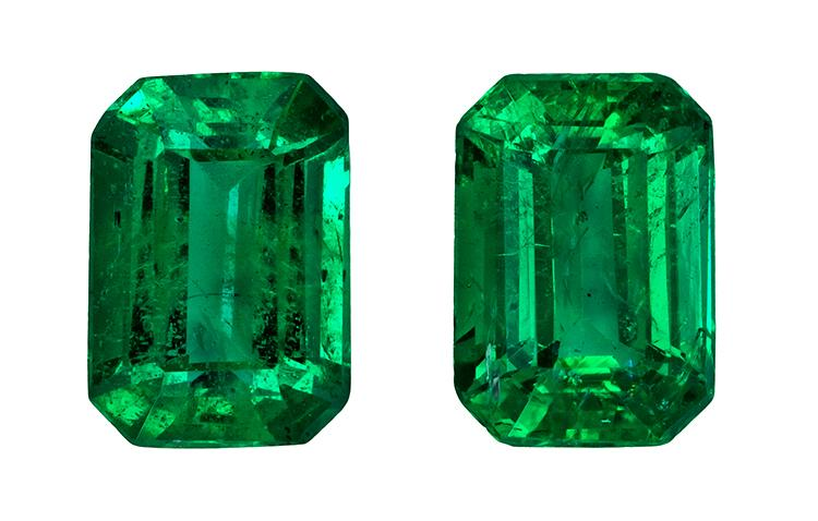 1.72 ct. Green Emerald