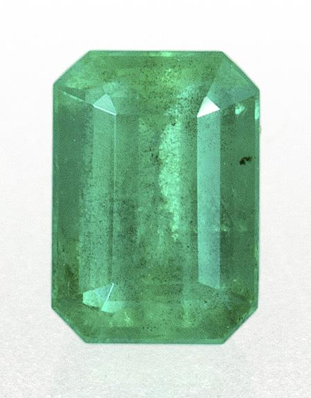 0.71 ct. Green Emerald