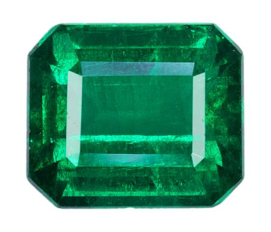 2.72 ct. Green Emerald