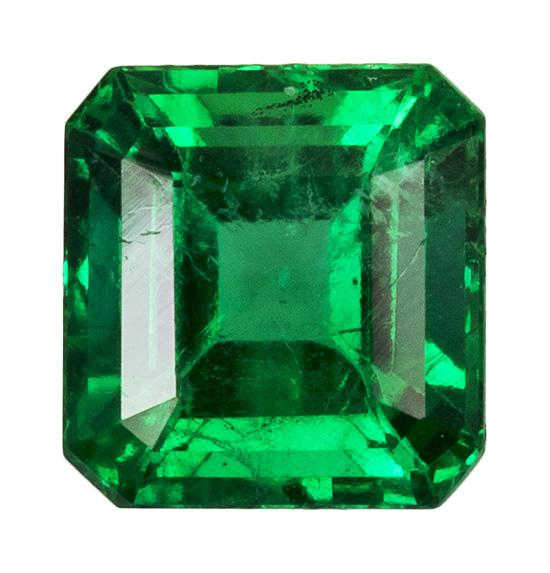 0.52 ct. Green Emerald