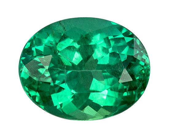 2.85 ct. Green Emerald