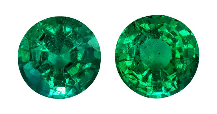 0.87 ct. Green Emerald