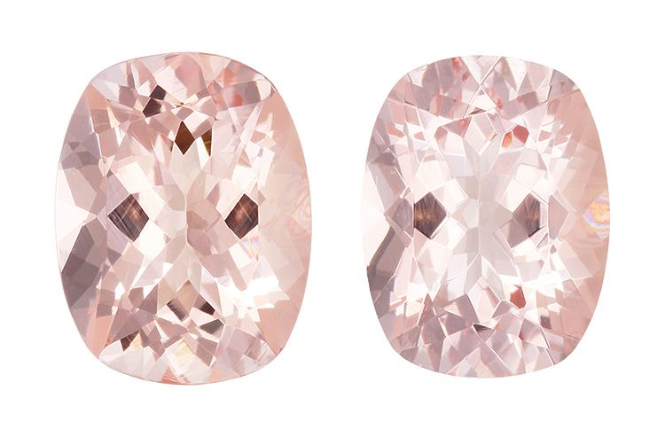 3.48 carat Cushion Morganite - Gemstone Thumbnail