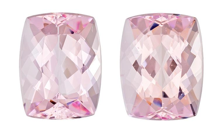 7.06 carat Cushion Morganite - Gemstone Thumbnail