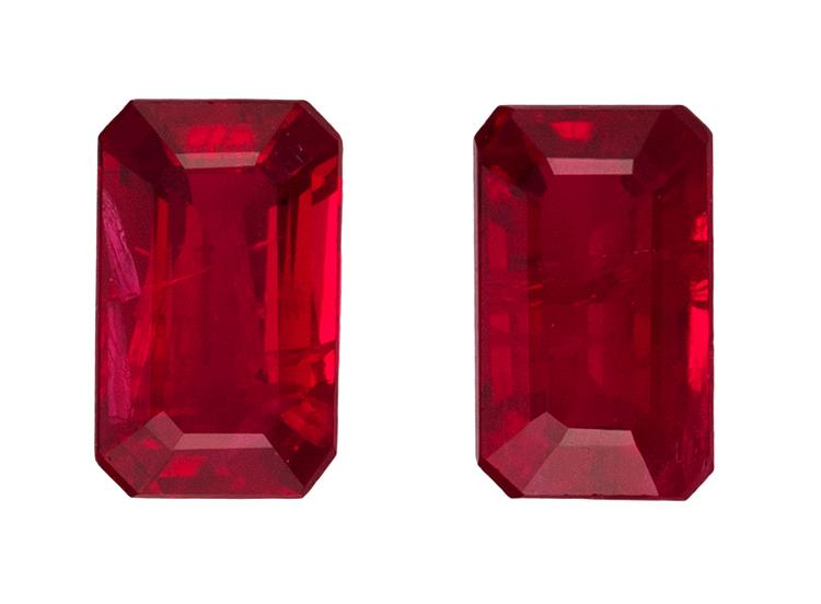 0.8 ct. Red Ruby