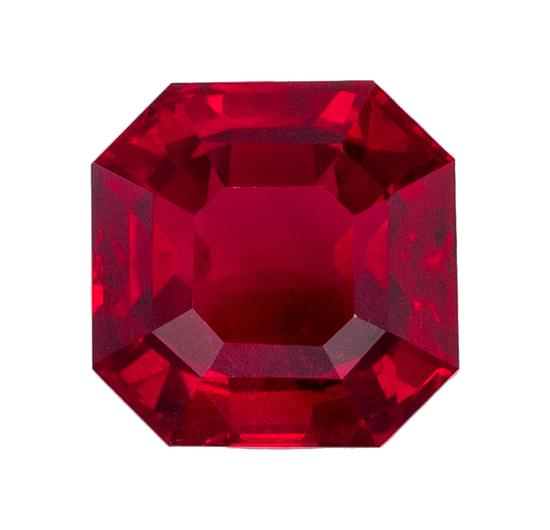 1.07 ct. Red Ruby