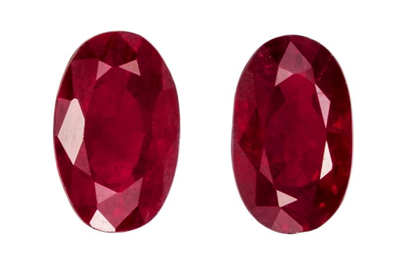 0.76 ct. Red Ruby