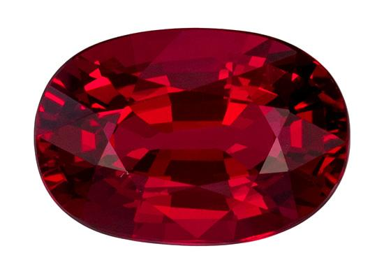 2.1 ct. Red Ruby