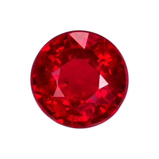 0.88 ct. Red Ruby