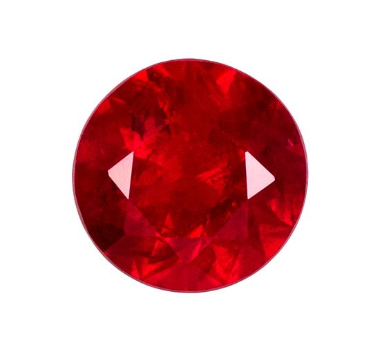 0.56 ct. Red Ruby