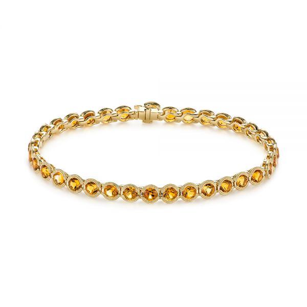 Citrine Bracelet - Three-Quarter View -