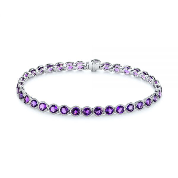 Contemporary Amethyst Bracelet - Image