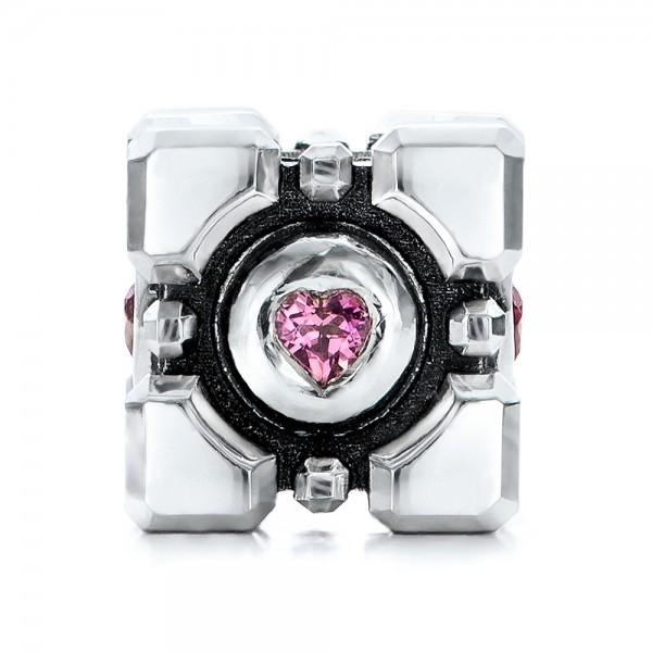 Custom Bracelet Charm - Three-Quarter View - 101163 - Thumbnail ...