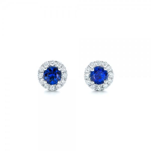 Custom Diamond Crawler Earrings 102735 Seattle Bellevue