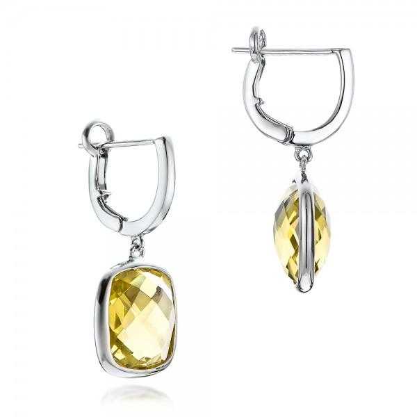Checkerboard lemon quartz pendant 101018 checkerboard lemon quartz earrings checkerboard lemon quartz earrings mozeypictures Images