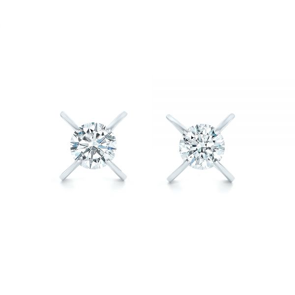 Custom Diamond Stud Earrings