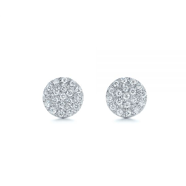 Diamond Cluster Earrings - Image
