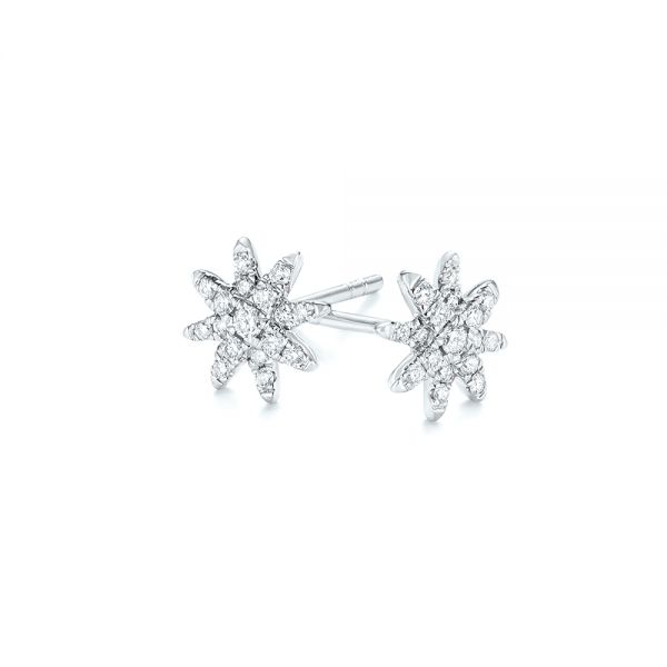 Diamond Earrings - Image
