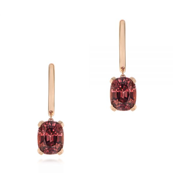 Spice Zircon Drop Earrings - Image