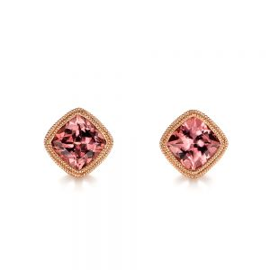 Spice Zircon Stud Earrings - Image