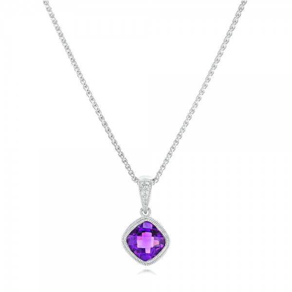 Amethyst pendant 102651 bellevue seattle joseph jewelry mozeypictures Images