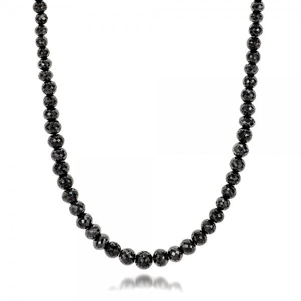 Black Diamond Necklace - Laying View
