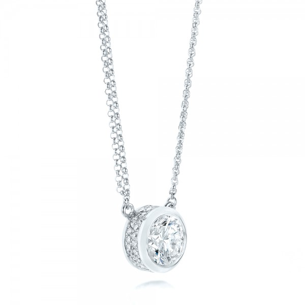 Custom diamond pendant 103205 aloadofball Images