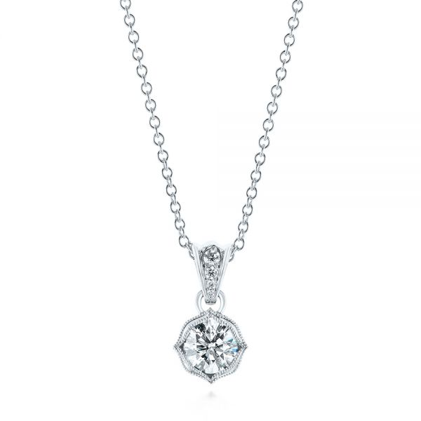 Custom Diamond Pendant - Image