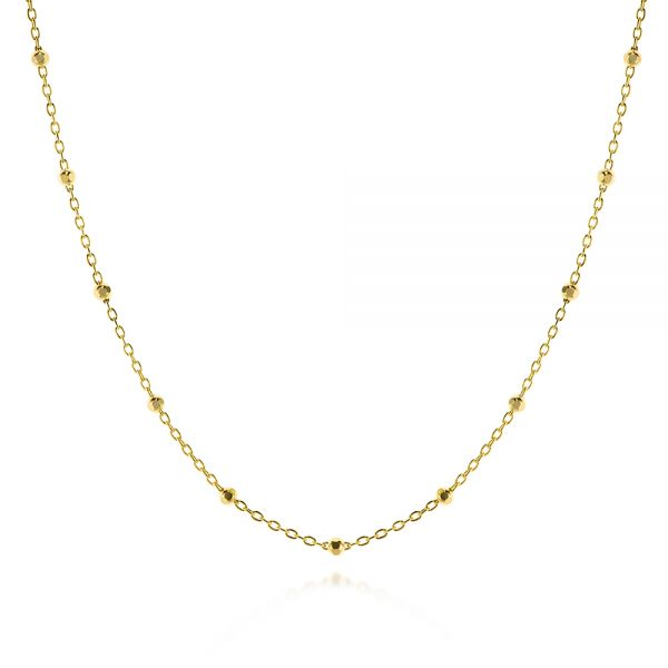 Dainty Bead Necklace - Image