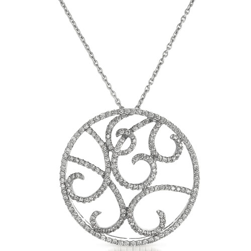 Diamond Filigree Pendant - Vanna K