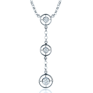 Diamond Triplet Pendant
