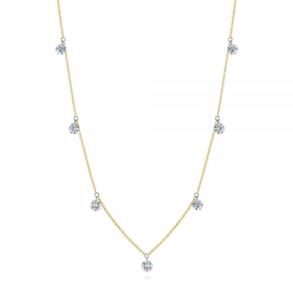Drilled Diamond Necklace - Image