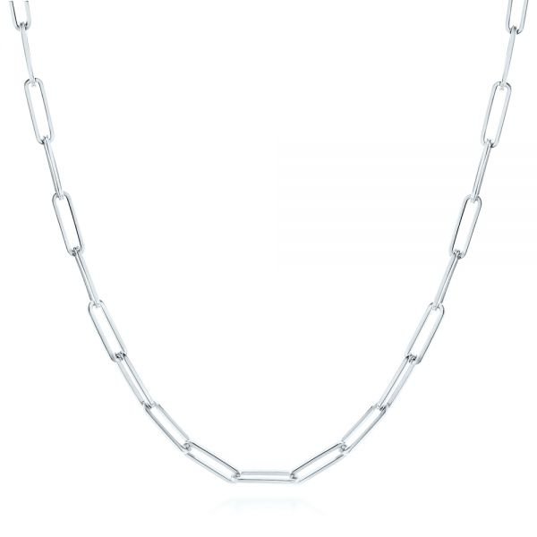 Elongated Flat Link Chain - Image