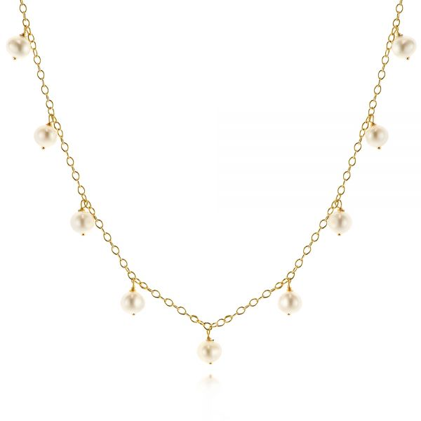 Freshwater Cultured Pearl Necklace - Image