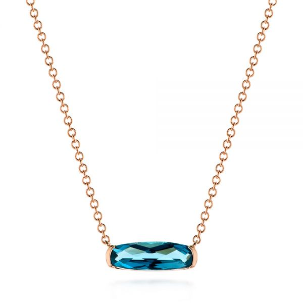 London Blue Topaz Pendant - Image