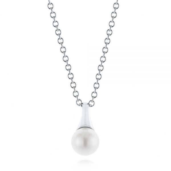 Pearl Pendant - Three-Quarter View -