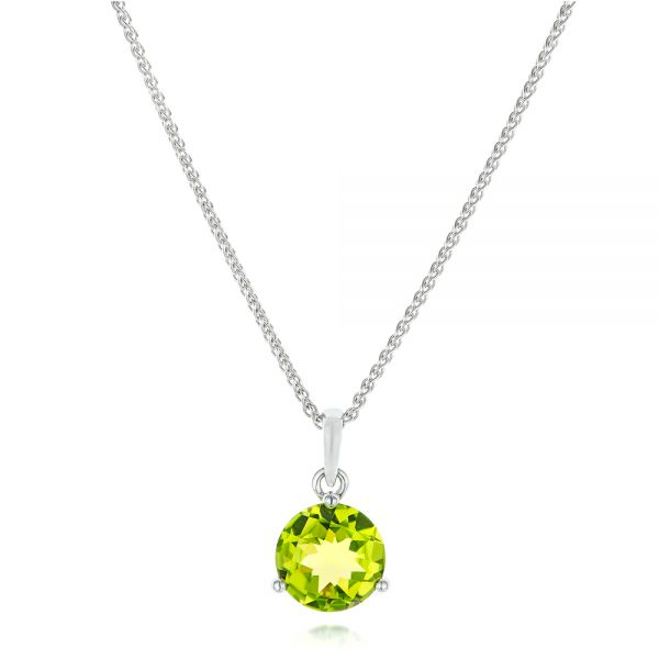 Peridot Pendant - Three-Quarter View -  102641