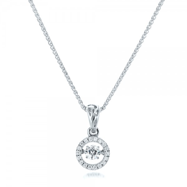 Rock'n Roll Moving Center Diamond Pendant