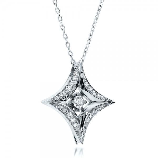 Star diamond pendant 100648 bellevue seattle joseph jewelry mozeypictures Image collections