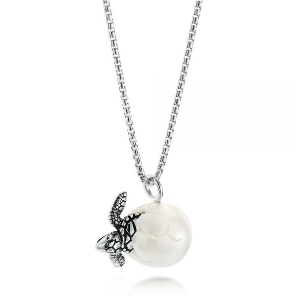 Turtle Fresh Water Pearl Necklace 103231 Seattle