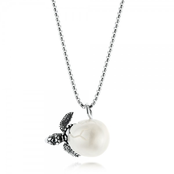 Turtle Fresh Water Pearl Necklace