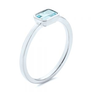 Aquamarine Fashion Ring - Image