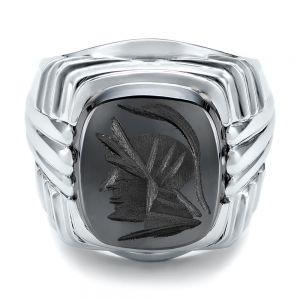 Custom Men's Signet Ring